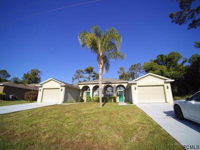 Palm Coast Multi Family Home For Sale: 17 Columbia Lane