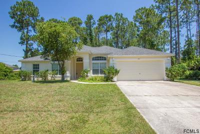 Palm Coast Single Family Home For Sale: 438 Underwood Trl