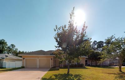 Palm Coast FL Single Family Home For Sale: $214,900