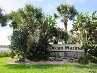 Flagler Beach Condo/Townhouse For Sale: 606 Ocean Marina Drive #D104