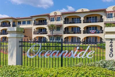 Flagler Beach Condo/Townhouse For Sale: 2450 N Ocean Shore Blvd #D-118