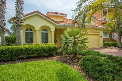 cinnamon beach, Ocean Hammock Single Family Home For Sale: 22 Sandpiper Ln