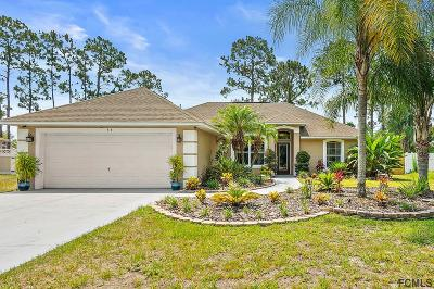 Palm Coast Single Family Home For Sale: 34 Easterly Place