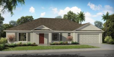 Palm Coast Single Family Home For Sale: 4 Sedan Place