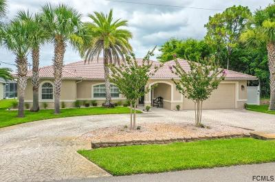 Palm Coast Single Family Home For Sale: 6 Clinton Ct N