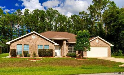 Palm Coast Single Family Home For Sale: 32 Karas Trail