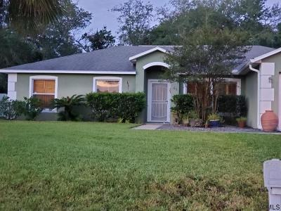 Palm Coast Single Family Home For Sale: 41 Freemont Turn
