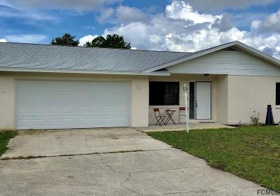 Palm Coast Single Family Home For Sale: 92 Burroughs Drive