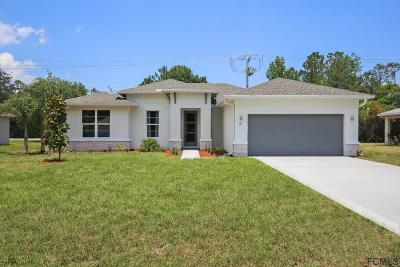 Palm Coast Single Family Home For Sale: 12 Rymshaw Drive