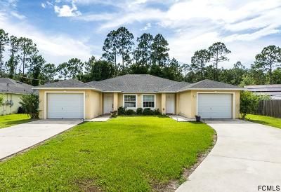 Palm Coast Multi Family Home For Sale: 67 Wellwood Lane