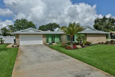 Palm Coast Single Family Home For Sale: 2 Flower Hill Lane