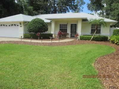 Palm Coast Single Family Home For Sale: 44 Westmoreland Drive