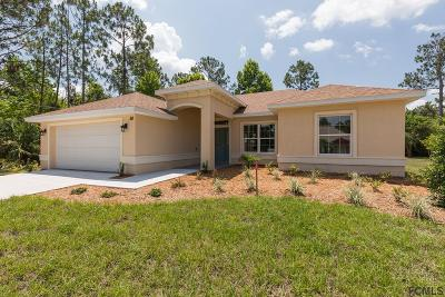 Palm Coast Single Family Home For Sale: 26 Pitt Lane