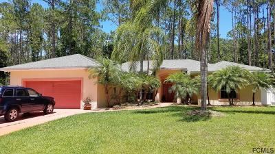 Palm Coast Single Family Home For Sale: 46 Utica Path
