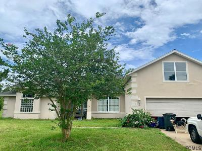 Palm Coast Single Family Home For Sale: 14 Butternut Dr