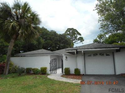 Palm Coast Single Family Home For Sale: 54 Cooper Lane