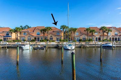Palm Coast Condo/Townhouse For Sale: 52 Rivers Edge Lane #52