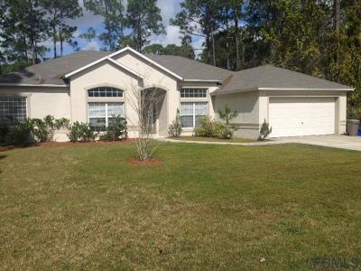 Palm Coast Single Family Home For Sale: 5 Ryberry Pl