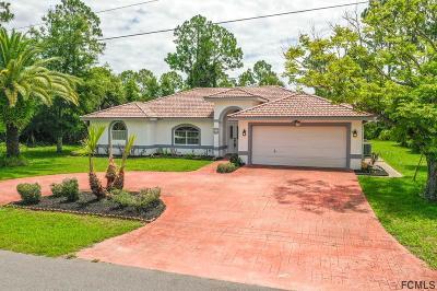 Palm Coast Single Family Home For Sale: 72 Bud Hollow Drive