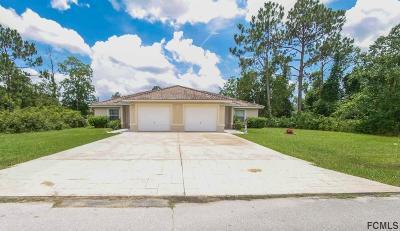 Palm Coast Multi Family Home For Sale: 14 Wood Acre Ln