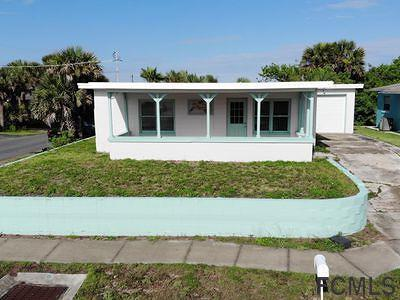 Flagler Beach Single Family Home For Sale: 301 N Central Ave N