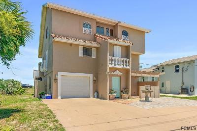 Flagler Beach Single Family Home For Sale: 1541 N Ocean Shore Blvd