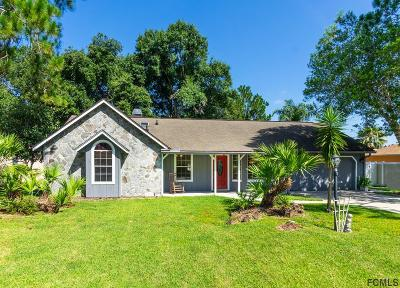 Palm Coast Single Family Home For Sale: 87 Bruning Lane