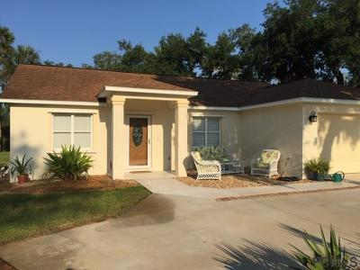 Flagler Beach FL Single Family Home For Sale: $339,000