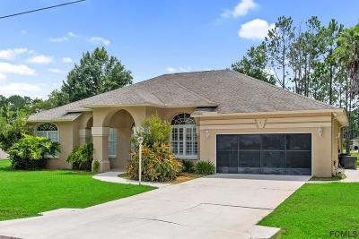 Matanzas Woods Single Family Home For Sale: 11 Lake Charles Ln