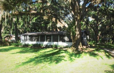 Bunnell Single Family Home For Sale: 3191 Old Dixie Hwy N