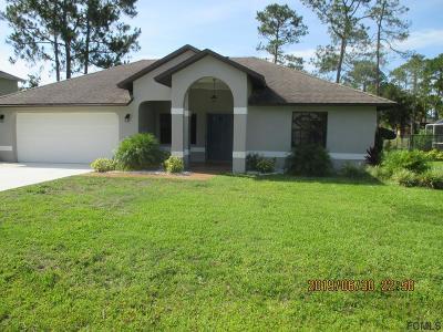 Palm Coast Single Family Home For Sale: 50 Westlee Ln
