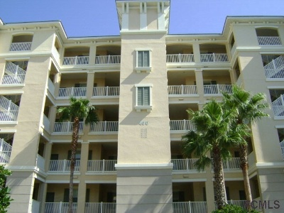 Palm Coast Condo/Townhouse For Sale: 400 Cinnamon Beach Way #341