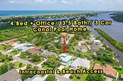 Flagler Beach FL Single Family Home For Sale: $649,900