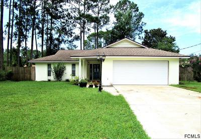 Palm Coast Single Family Home For Sale: 56 Berkshire Ln