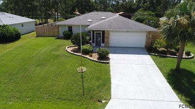 Palm Coast Single Family Home For Sale: 21 Weidner Place