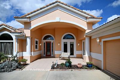 Palm Coast Single Family Home For Sale: 18 Oak View Circle E
