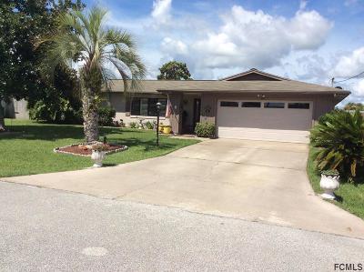 Palm Coast Single Family Home For Sale: 22 Claridge Ct S