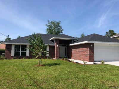 Palm Coast Single Family Home For Sale: 51 Whispering Pine Dr
