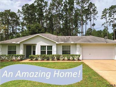 Palm Coast Single Family Home For Sale: 5 Riding Pl