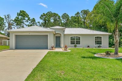 Palm Coast Single Family Home For Sale: 27 Sederholm Path