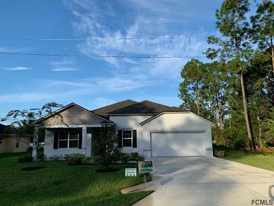 Palm Coast Single Family Home For Sale: 23 Pheasant Drive