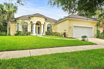 Palm Coast Single Family Home For Sale: 7 Village Dr N