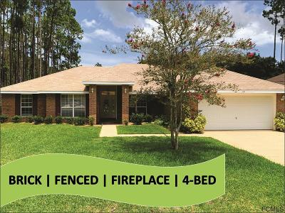 Palm Coast Single Family Home For Sale: 19 Ripplewood Drive