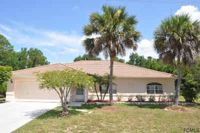 Palm Coast Single Family Home For Sale: 8 Foster Lane