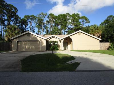Palm Coast FL Single Family Home For Sale: $324,900
