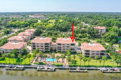 Palm Coast Condo/Townhouse For Sale: 104 Club House Dr #409