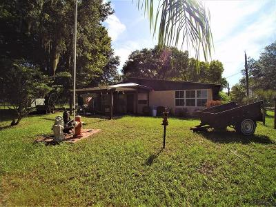 Bunnell Single Family Home For Sale: 3879 Cr 305