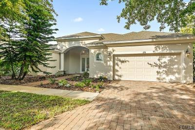 Palm Coast Single Family Home For Sale: 28 Front Street
