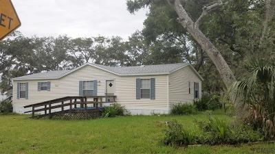 St Augustine Single Family Home For Sale: 6301 Gomez Road