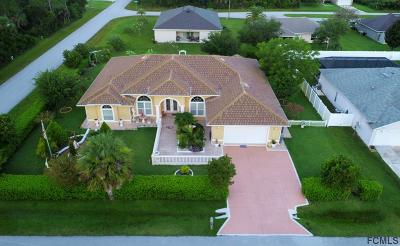 Palm Coast Single Family Home For Sale: 1 Buttermill Dr